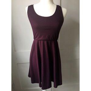 Mossimo Burgundy Tank Dress